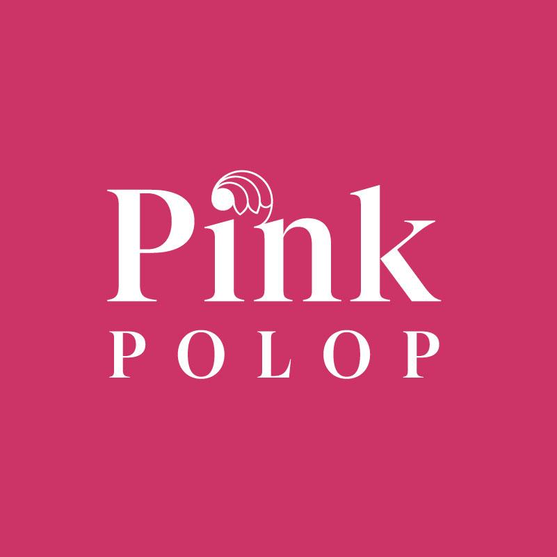 diseño grafico pink polop
