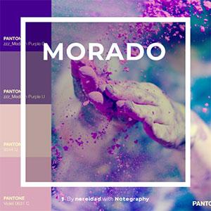color morado significado